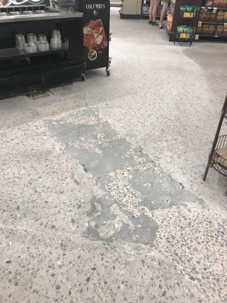 Concrete floor polishing Denver Colorado